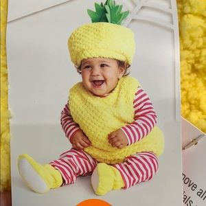 Hyde and Eek! 0-6 months infant pineapple costume